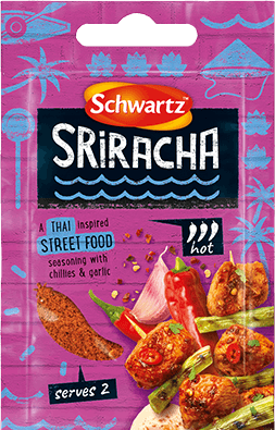 Purple Pack shot of Srirarcha Street Food Seasoning