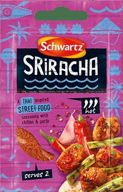 Purple Pack shot of Srirarcha Street Food Seasoning