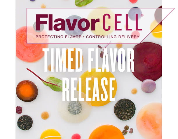 Timed Flavor Release