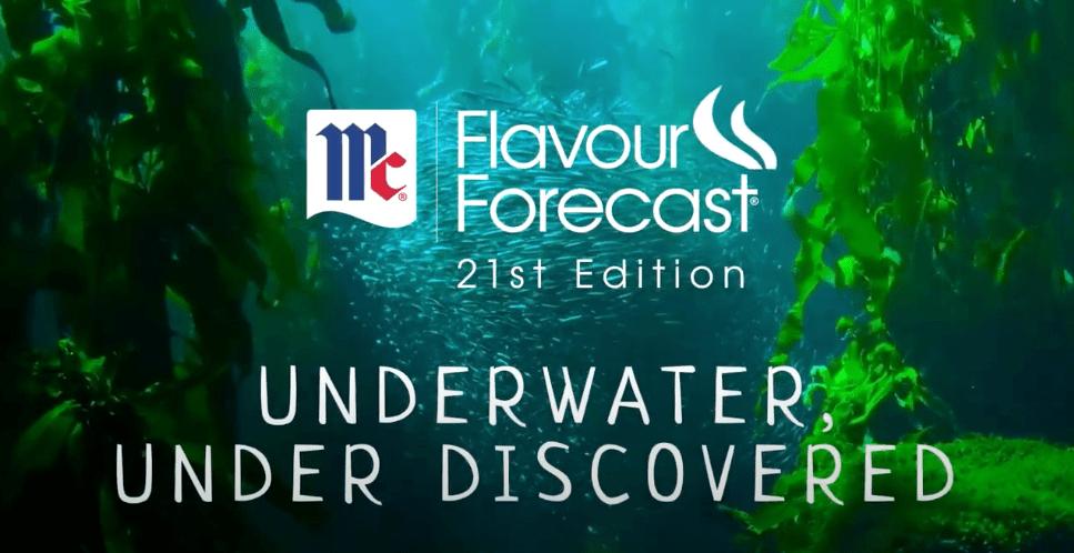 Flavour Forecast Video: Underwater