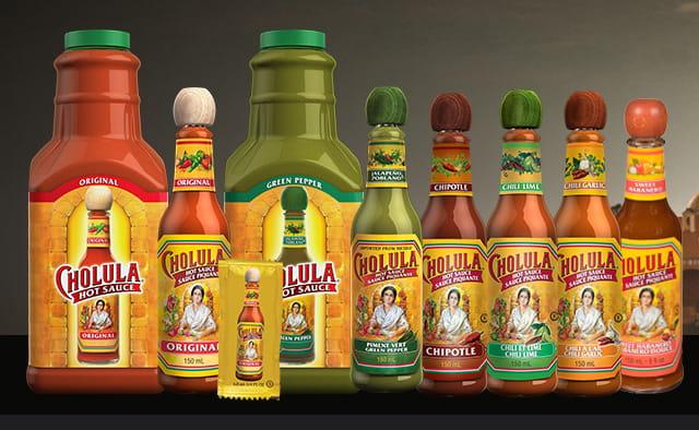 Cholula product family