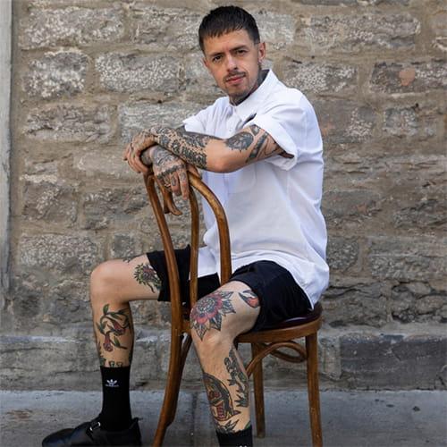 Chef Nicolas Salinas