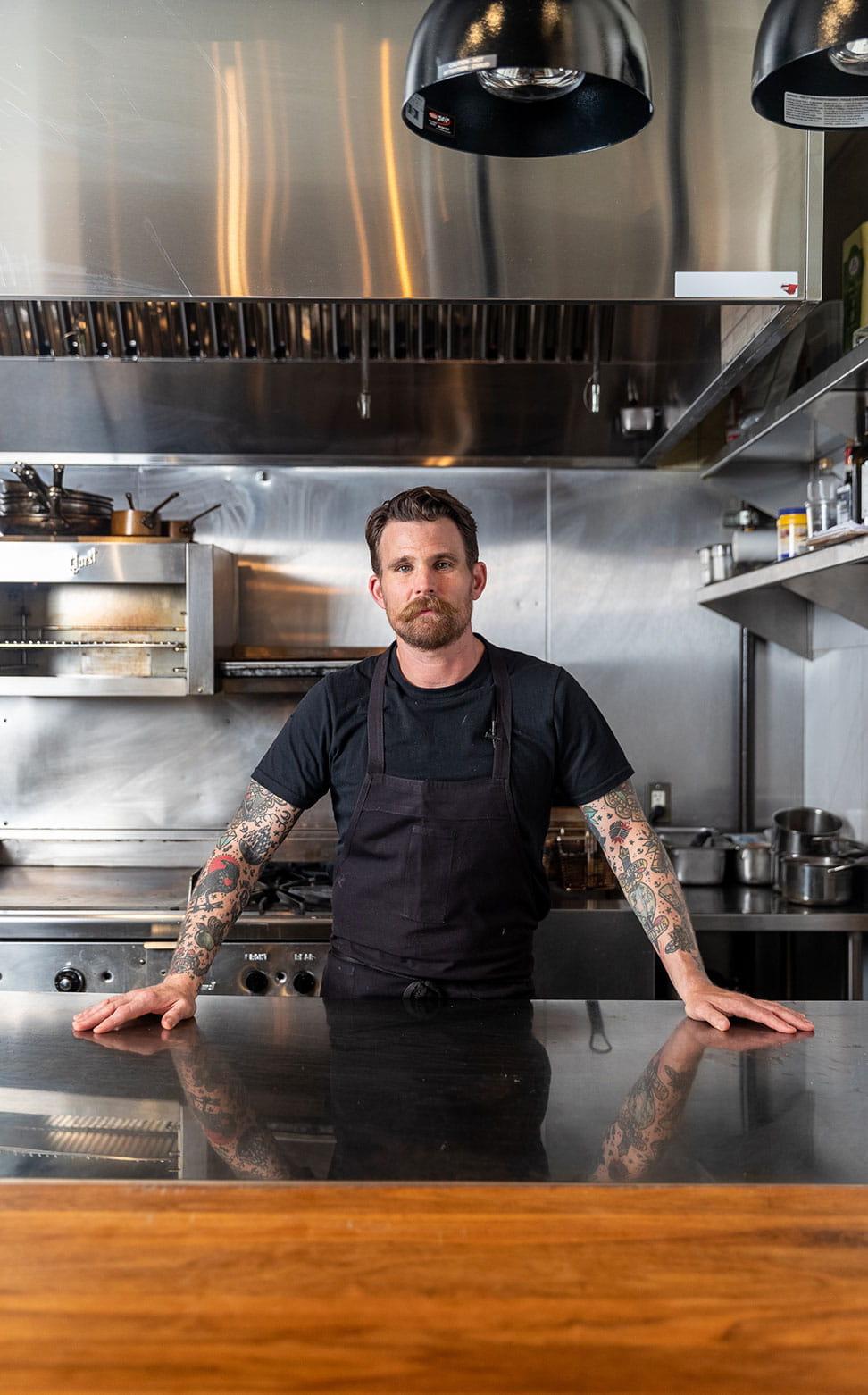 Chef Dale Mackay