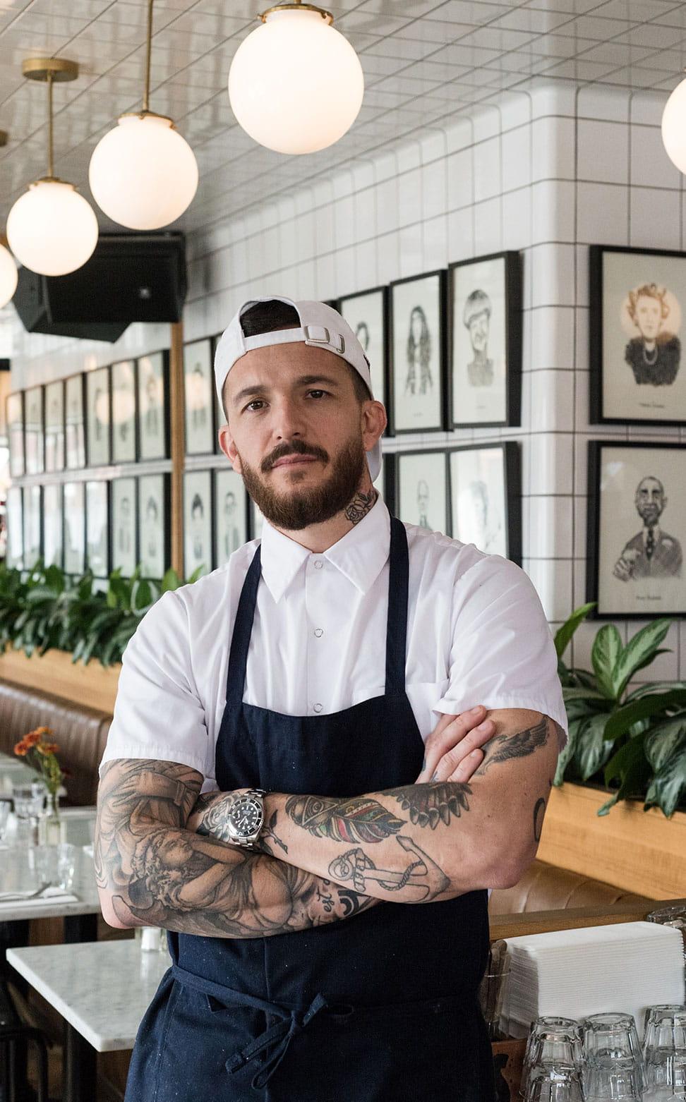 Chef Jeremie Faslissard