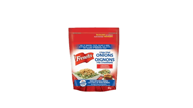 French is crispy fried onions