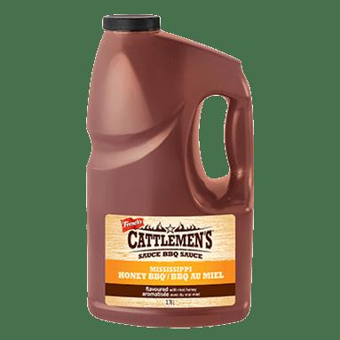 Cattlemen's Mississippi Style Honey BBQ Sauce