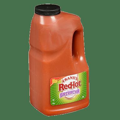 Frank's RedHot Slammin Sriracha Chili Sauce 189L