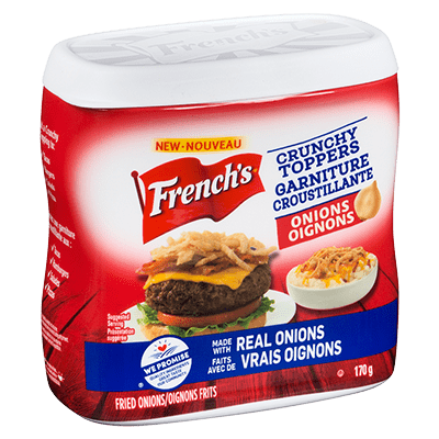 French's Fried Onion Crunchy Toppers 170G