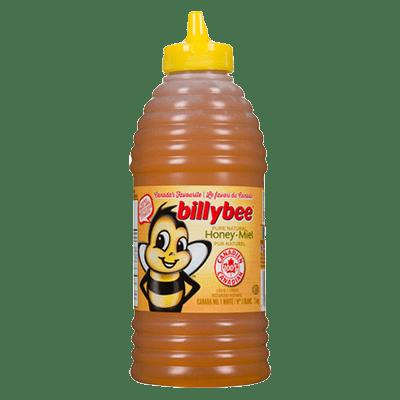 Billy Bee Liquid White Honey Squeeze Beehive1 KG