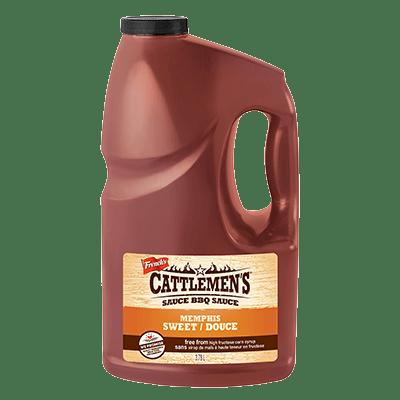 Cattlemen's® Memphis Sweet® BBQ Sauce