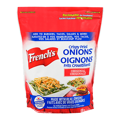 French's® Fried Onion Crunchy Toppers