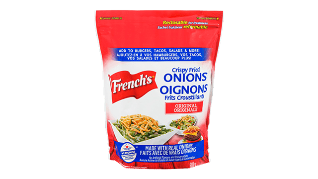 French's Fried Onion Crunchy Toppers 680G