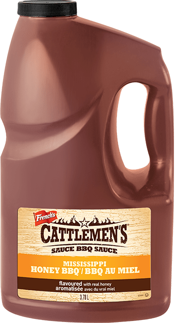 Cattlemen's<sup>®</sup> Mississippi Style Honey BBQ Sauce