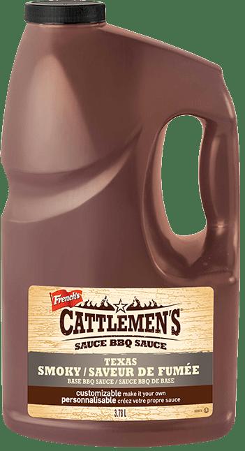 de sauce  BBQ Cattlemen's<sup>MD</sup> Texas Saveur de fumée