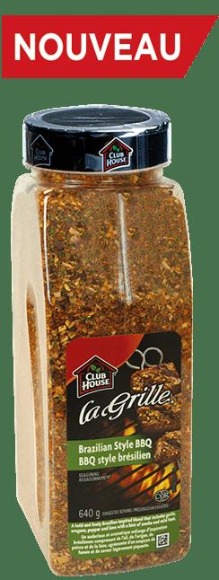 d'assaisonnement BBQ style brésilien La Grille Club House