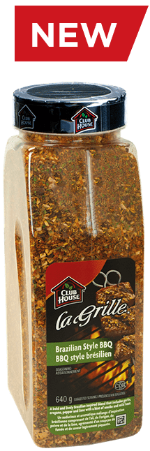 Club House La Grille Brazilian Style BBQ Seasoning