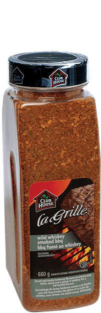 Club House La Grille Wild Whiskey BBQ Seasoning