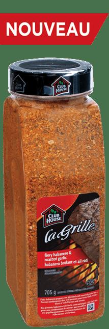 Assaisonnement pour habanero brûlant et ail rôti