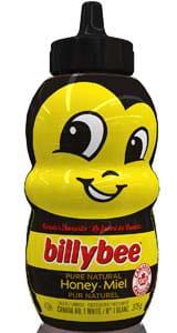 Billy Bee Liquid White Honey (Bee Bottle)