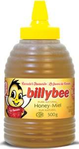 Miel blanc liquide (bouteille pressable ruche)
