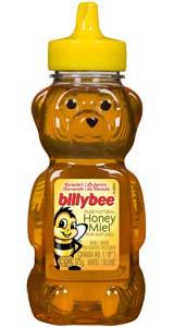 Miel blanc liquide (bouteille ourson)