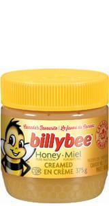 Billy Bee Spreadable Honey Jar