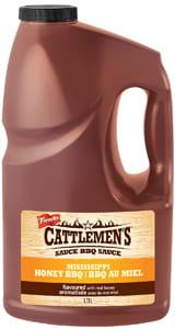 Sauce BBQ Cattlemen's® Mississippi BBQ Au Miel