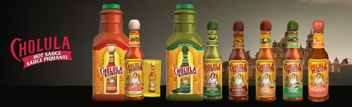 Cholula-Family of Products Header-