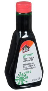 Clubhouse Green Food Colour Extract 455ml