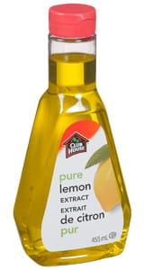 Extrait de citron pur