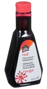 Préparation de colorant pour aliments, rouge