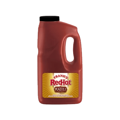 Franks Red Hot Rajili Sweet Ginger Hot Sauce 1.89L