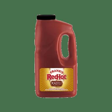 Franks Red Hot Rajili Sweet Ginger Hot Sauce 1.89L