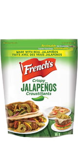 Garniture Croustillante  Jalapeño de French's®