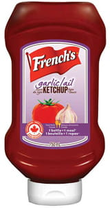 French's® Ail Ketchup Sauce de type