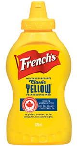 French's Yellow Mustard 325ML