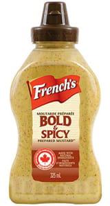 French's Bold & Spicy Prepared Mustard 325ML