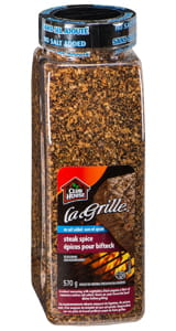 La Grille Steak Spice No Salt Added 570g