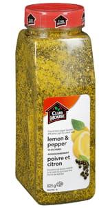 Assaisonnement poivre et citron