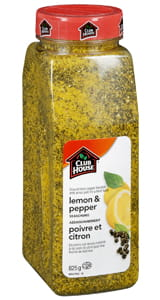 Clubhouse Lemon Pepper Seasoning 825g