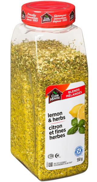 Assaisonnement citron et fines herbes