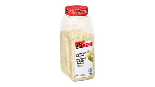 Assaisonnement Parmesan et fines herbes