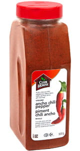 Club House Ancho Chili Pepper 500G