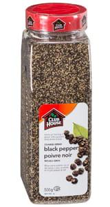 Clubhouse Coarse Ground Black Pepper