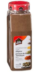 Clubhouse Allspice 475g