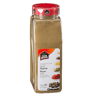 Clubhouse Ground Thyme 375g