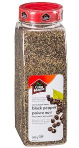 Clubhouse Restaurant Grind Black Pepper 500g