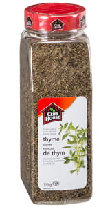 Clubhouse Thyme Leaves 175g