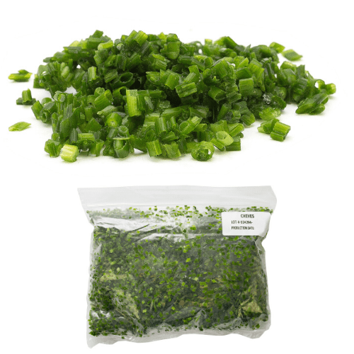 "Chive 1/8"" 8 Ounce Bag - 4 per Case"