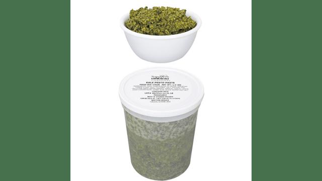 KalePestoPaste 1.5 Pound Tub - 2 per case
